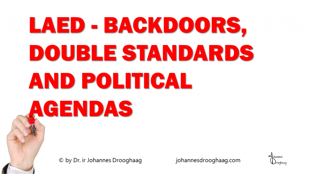 LAED - Backdoors - double standards and political agendas