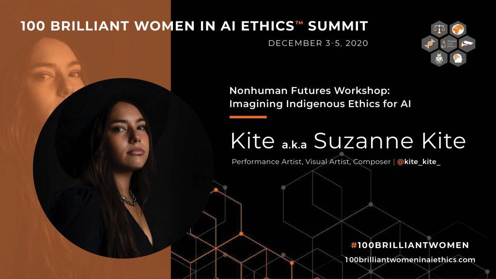 Underrepresentation - 100 brilliant women in AI Ethics Summit