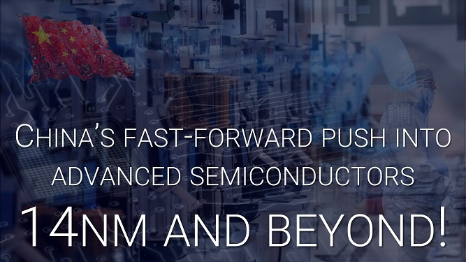 China semiconductor 14nm and beyond