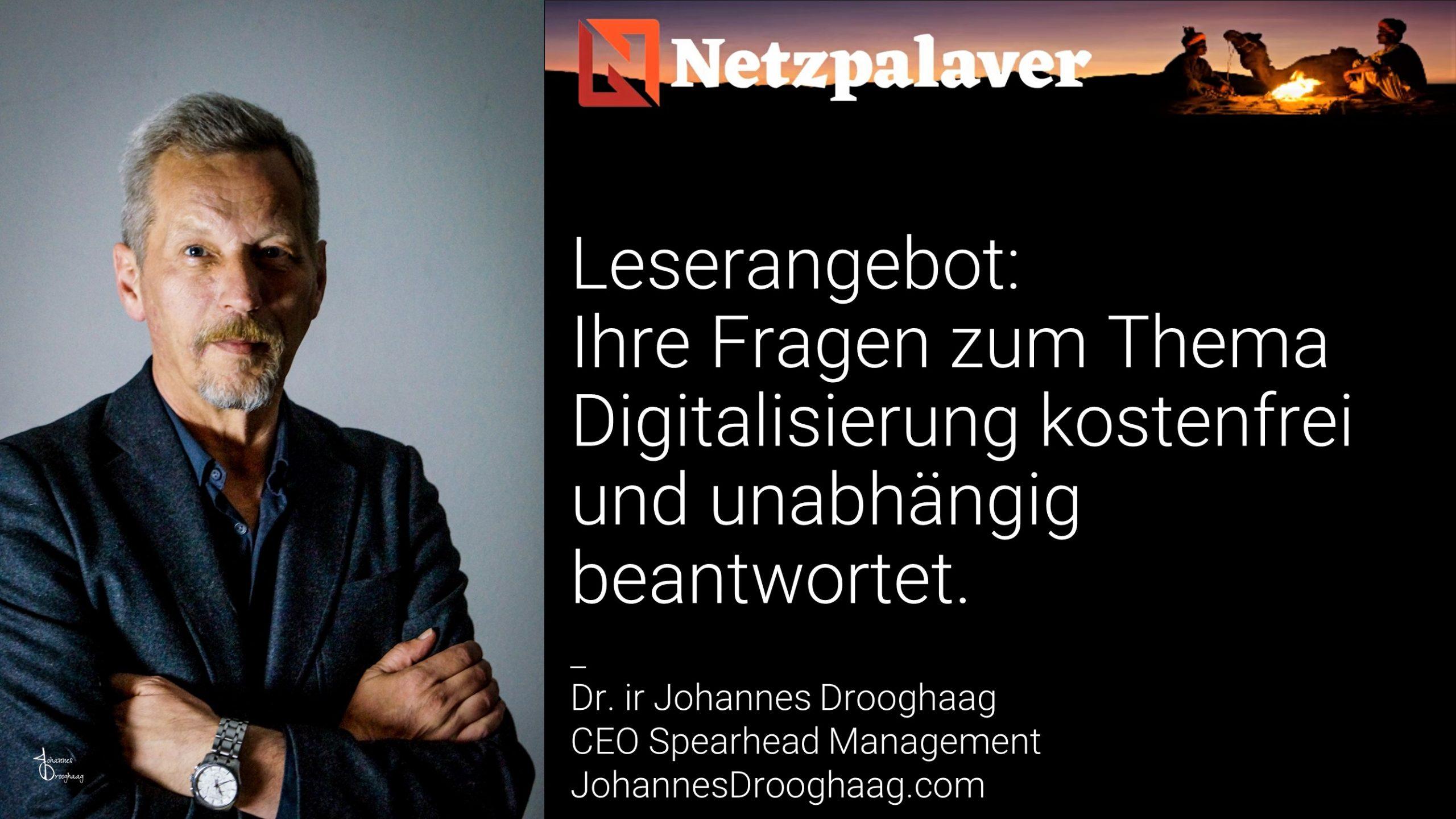 Leserangebot: Ihre Fragen zum Thema Digitalisierung kostenfrei und unabhängig beantwortet.