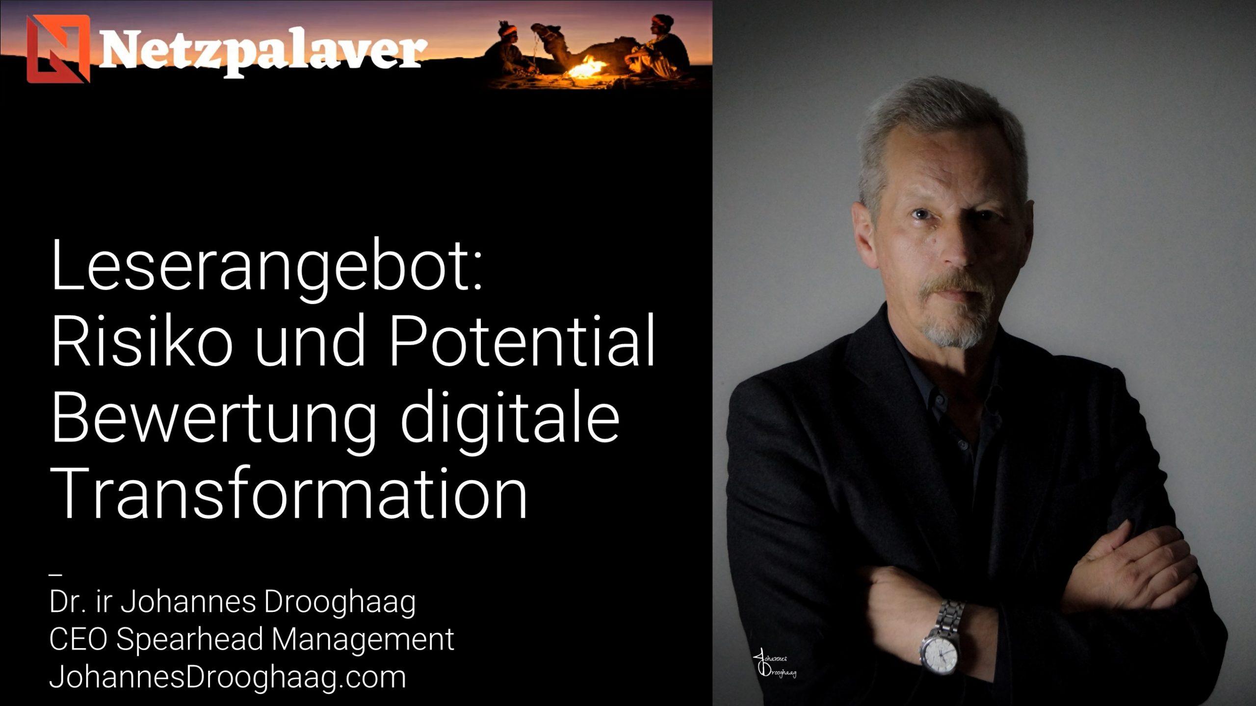 Leserangebot: Risiko und Potential Bewertung digitale Transformation