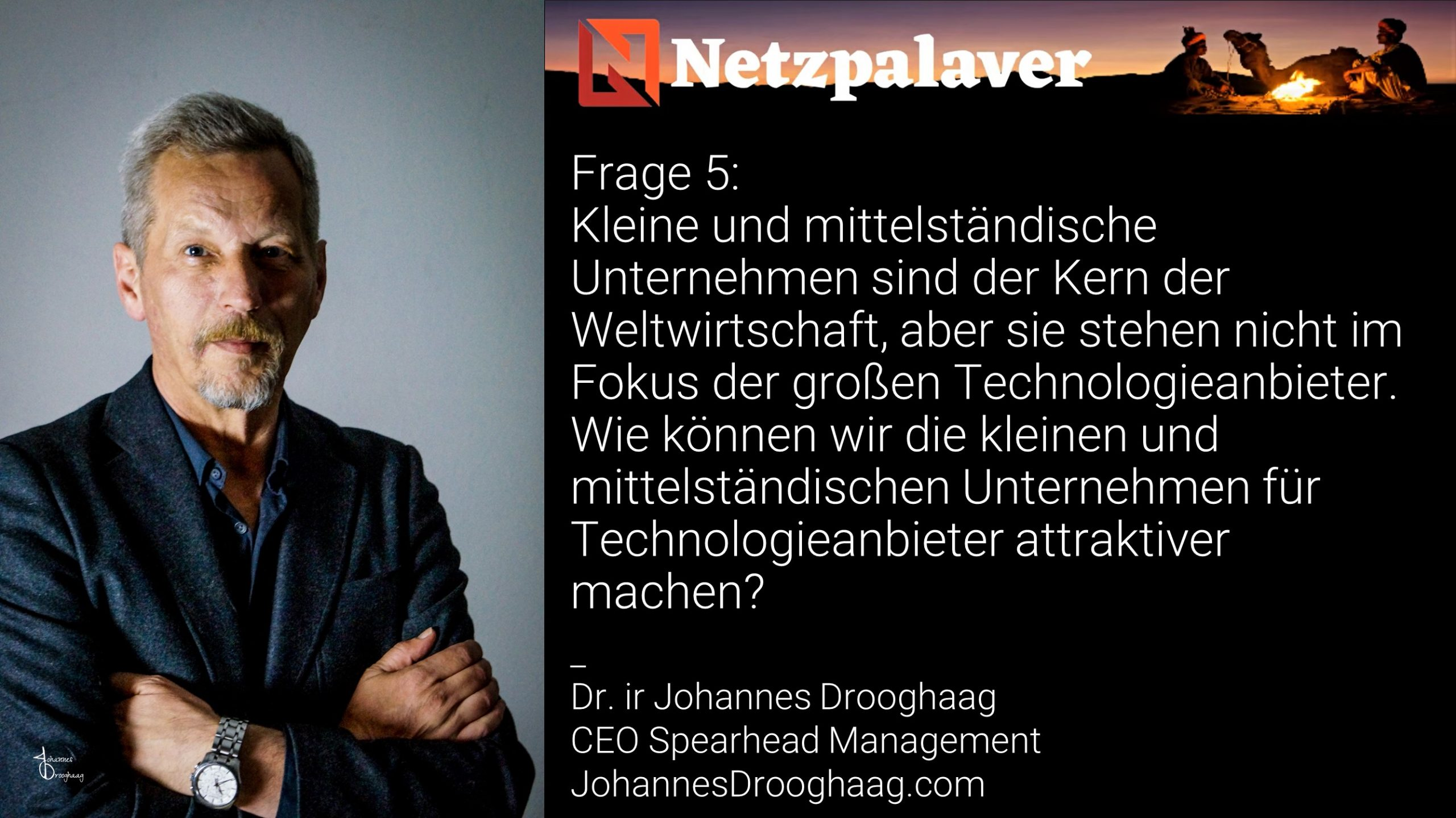 Netzpalaver: Mittelstand und Digitalisierung - Frage 5