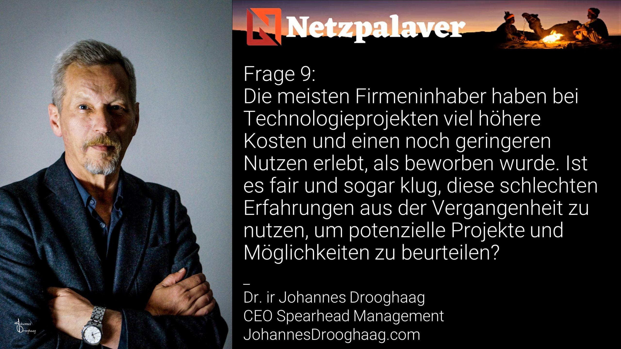 Netzpalaver: Mittelstand und Digitalisierung - Frage 9
