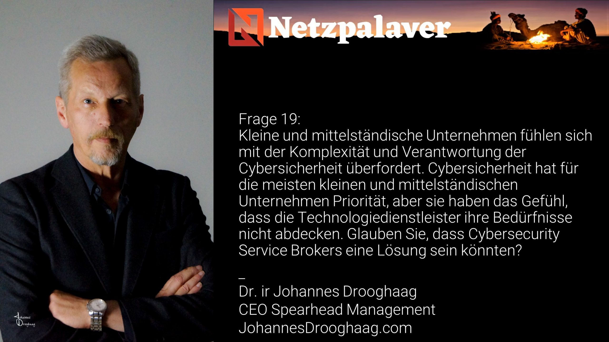 Netzpalaver: Mittelstand und Digitalisierung - Frage 19