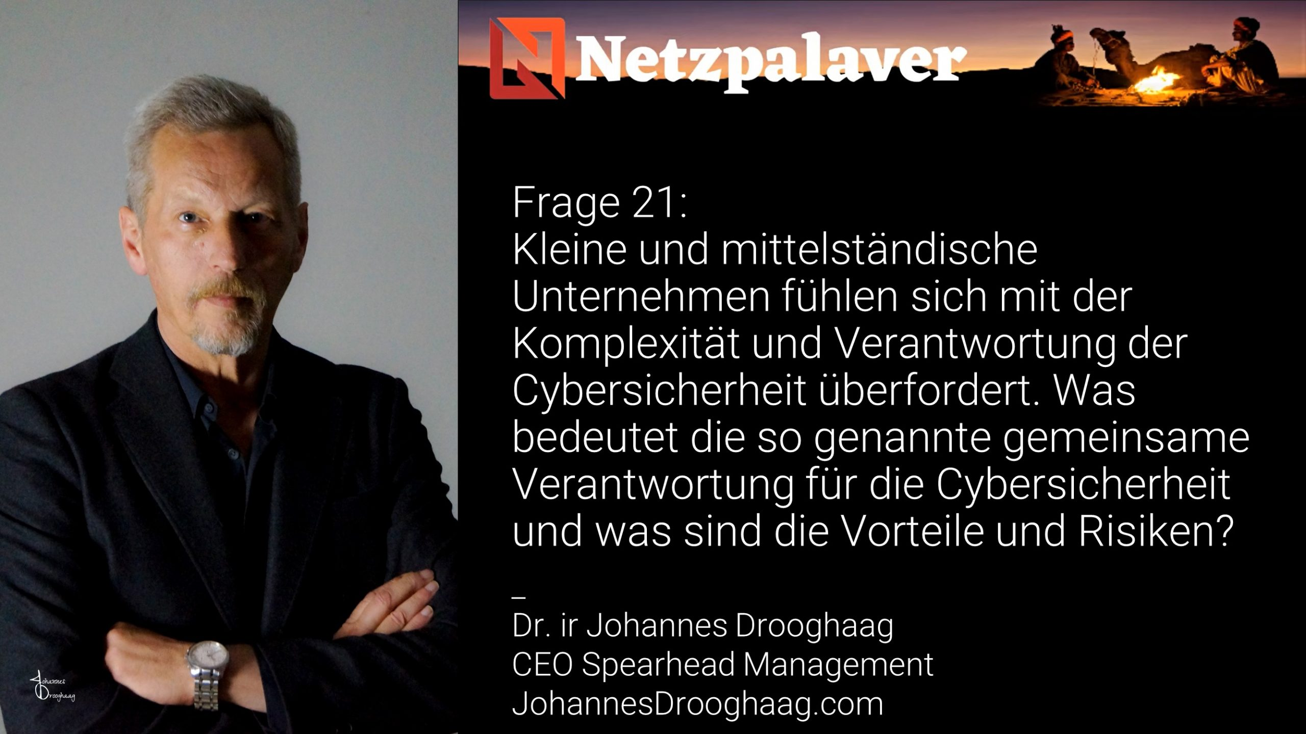 Netzpalaver: Mittelstand und Digitalisierung - Frage 21