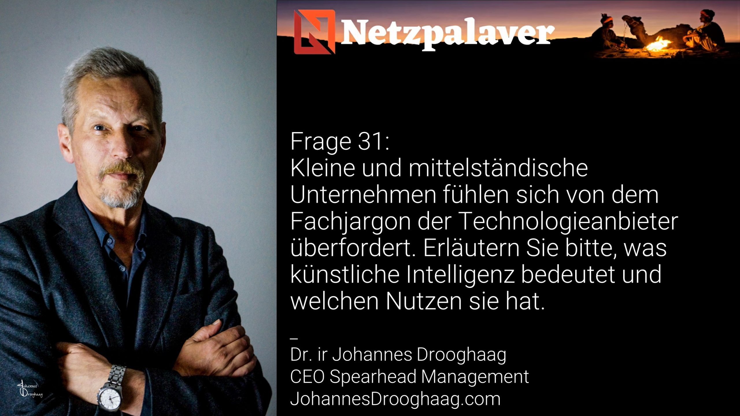 Netzpalaver: Mittelstand und Digitalisierung - Frage 31