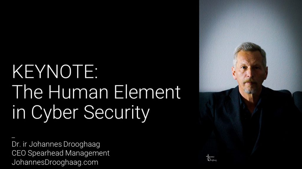 KEYNOTE: The Human Element in Cyber Security