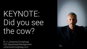 KEYNOTE: Did you see the cow?