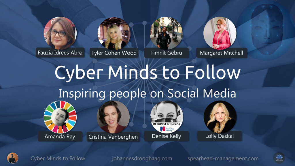 Cyber Minds to Follow on Social Media