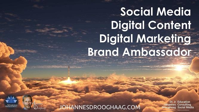 Social Media with Dr. ir Johannes Drooghaag